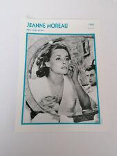 jeanne moreau (b) - Fiche cinéma - Portraits de stars 13 cm x 18 cm