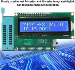 IC Tester Digital Meter 74 40 45 Series lC Logic Gate Tester New