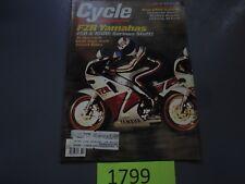 Cycle Magazine July 1987 Yamaha FZRs 750 & 1000, BMW K100LT