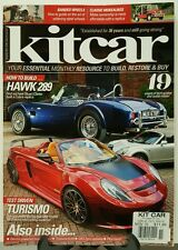 Kitcar UK Hawk 289 How to Build Turismo Tech Guides November 2015 FREE SHIPPING