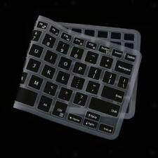 Black Removable Silicone Keyboard Cover Skin for Dell XPS13 Desktop