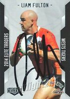 ✺Signed✺ 2014 WESTS TIGERS NRL Card LIAM FULTON