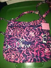 Vera Bradley Katalina Pink Double Zip Mailbag