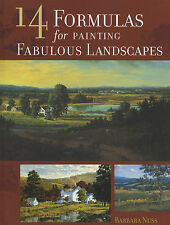 14 Formulas for Painting Fabulous Landscapes by Barbara Nuss new hardcover book