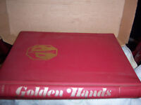 Golden Hands hardback holding 13 booklets with a total of 1941 pages loaded with