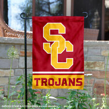 USC Trojans Garden Flag and Yard Banner