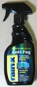 Rain-X Interior Glass Anti-Fog 355mL for VW Audi BMW Nissan Toyota Subaru Ford