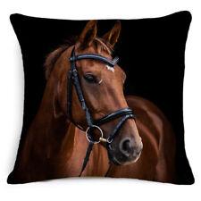 "18"" Horse Artistic Throw Pillow Case Cushion Cover Home Bedroom Sofa Decor 3#"