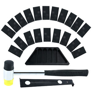 Wood Flooring Laminate Installation Kit Floor Fitting Tool 20 Spacers For Home
