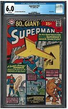 SUPERMAN #187 80 Page Giant CGC 6.0 (6/66) DC Comics white pages