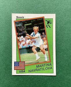 Martina Navratilova ROOKIE sticker Panini Supersport 1987 # Great Condition