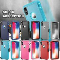 For iPhone Xs Max X iPhone XR iPhone X Case Belt Clip Heavy Duty Cover Holster