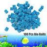 100Pcs Bag Aquarium Pond Bio Ball Canister Clean Water Fish Tank Filter Media