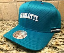 CHARLOTTE HORNETS MITCHELL & NESS JERSEY STRAPBACK MEN'S HAT CAP SHIPS IN A BOX!