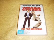 WEDDING CRASHERS 2005 DVD as NEW Owen Wilson vince vaughn Rachel McAdam R4