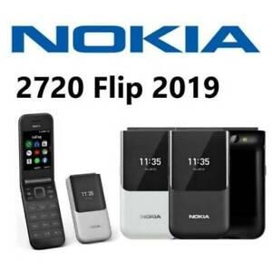 Nokia 2720 Flip - 4GB - Ocean Black (Unlocked)