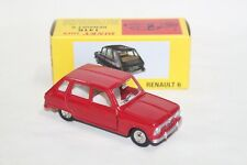 Atlas 1:43 Dinky Toys 1416 Diecast Renault 6 Models Cars Red