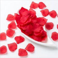 100 pack artificial rose petals, romatic wedding deocration etc