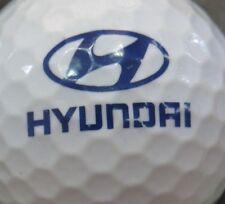 (1) Hyundai Auto Vehicle Logo Golf Ball