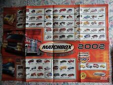 Matchbox Poster Catalog brochure 2002