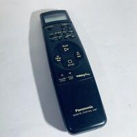 Genuine Panasonic VEQ-1485 VCR VHS Remote Controller Vintage VideoPlus 1411L