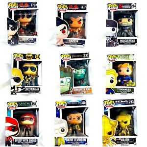 Funko Pop Games, TV, Movies, Animation, Exclusives & More! Lots New Rare Pops