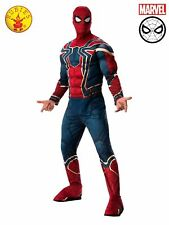 Adult Mens Marvel Comics Spiderman Iron Spider Peter Parker Costume