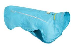 Ruffwear Wind Sprinter Rain Jacket Dog Coat 0585/409 Blue Atoll NEW
