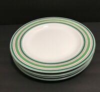 Studio Nova Holiday Cardinal Porcelain Christmas Dinner Plates LM218 Lot of 4
