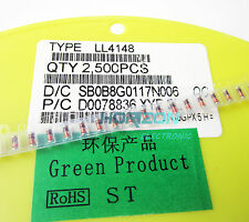 200pcs Ll4148 Diode Smt Surface Mount Version of 1N4148 New