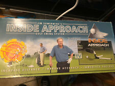 Jim Sowerwine's Inside Approach Golf Swing System Complete With Vhs Tape