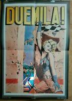 Affiche poster LIBERATORE DUEMILA ! 47x69 cm pliée en 4