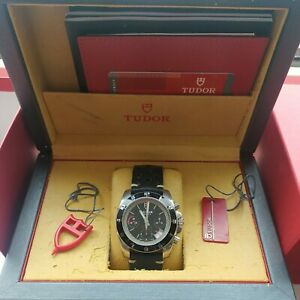 Tudor Grantour 20350N Full Set automatic chronograph black