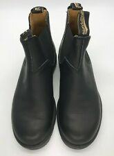 Blundstone Unisex Black Leather 550 Series Boots, Voltan Black, 8.5 M US Men/
