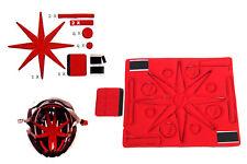 Helmpolster universal Ersatz-Kit Fahrradhelm waschbar Fahrrad Helm Innenfutter