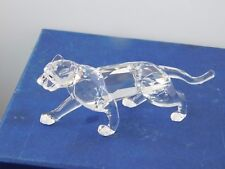 "SWAROVSKI  1997 LEOPARD/PANTHER MINT BOXED LOGO..COA.""AFRICAN WILDLIFE"".- RARE."