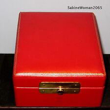 NEW in RED BOX STEUBEN Glass ARIADNE TEARDROP PENDANT 14K GOLD crystal ornament