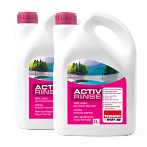 2x Thetford Activ Rinse Toiletten Zusatz Sanitärflüssigkeit für Spülbehälter 2 L