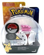 Pokemon Throw N Pop in to battle pokeball Ditto TOMY