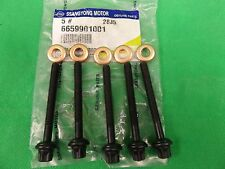 GENUINE SSANGYONG REXTON SUV 5 CYL 2.7L TURBO DIESEL INJECTOR BOLT & WASHER SET