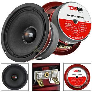 "2 Pack DS18 5.25"" Midrange Loudspeaker 300 Watts Max/150W RMS Car Audio PRO-X5M"