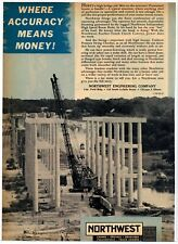 1961 Northwest Engineering Ad: Northwest Independent High Speed Boom Hoist Pic