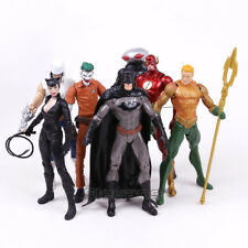 7 Pcs/Set DC Comics Batman Joker The Flash Catwoman PVC Action Figures Model Toy