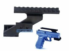 Tactical Scope Laser Flashlight Light Mount for Glock 17 19 20 21 22 23 30 31 32