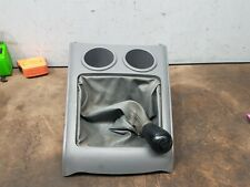 FORD RANGER PK XL 2010 5 SPEED MANUAL GEAR STICK KNOB & SURROUND WITH CUP HOLDER