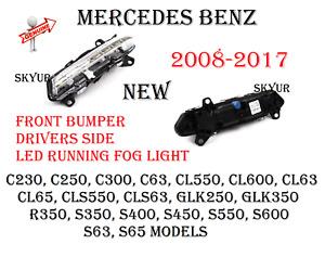 Front Bumper Drivers Side Fog LED Light For Mercedes C CL CLS GLK R S GENUINE