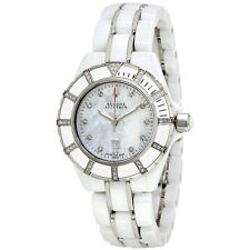 Bulova Accutron Mirador White Mother of Pearl Dial Ladies Watch 65R137