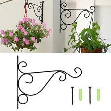 Wandhalter für Blumen Wandhaken Blumenampelhalter Blumenampelhaken Metall DM5425