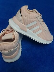 BABY/INFANT GIRLS ADIDAS TRAINERS, size 5, pink