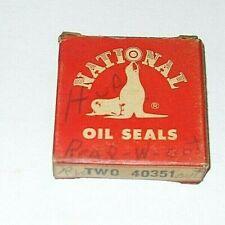 TWO Hudson Rear Wheel Seals Bearing Adjustment Cap #150066 1936 - 1952 # 40351